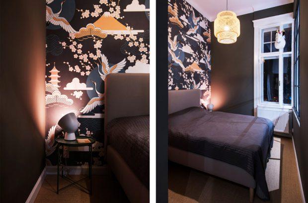 ห้องนอนตกแต่งอารมณ์ญี่ปุ่น