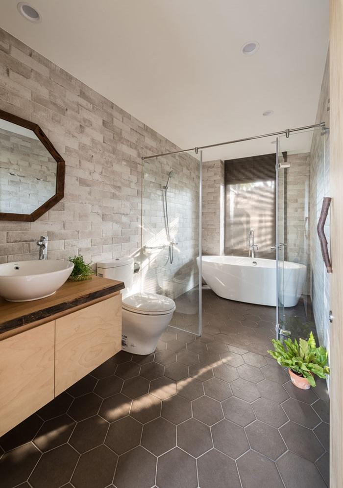 ตกแต่งห้องน้ำสไตล์ modern