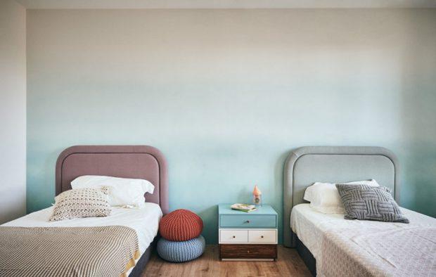 ห้องนอนเด็กเตียงคู่