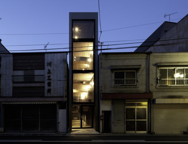 บ้านหน้าแคบ 3 ชั้น