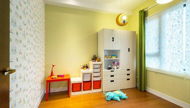 ห้องเด็กสีสันสดใส