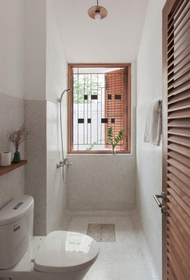 ห้องน้ำเล็ก ๆ ตกแต่งดูดี