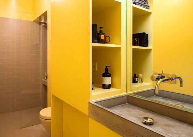 ตกแต่งบ้านด้วยสีเหลือง