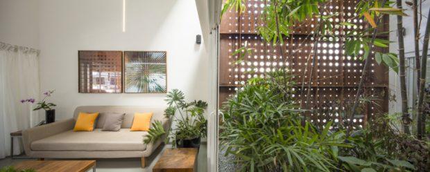 พื้นที่นั่งเล่น indoor-outdoor