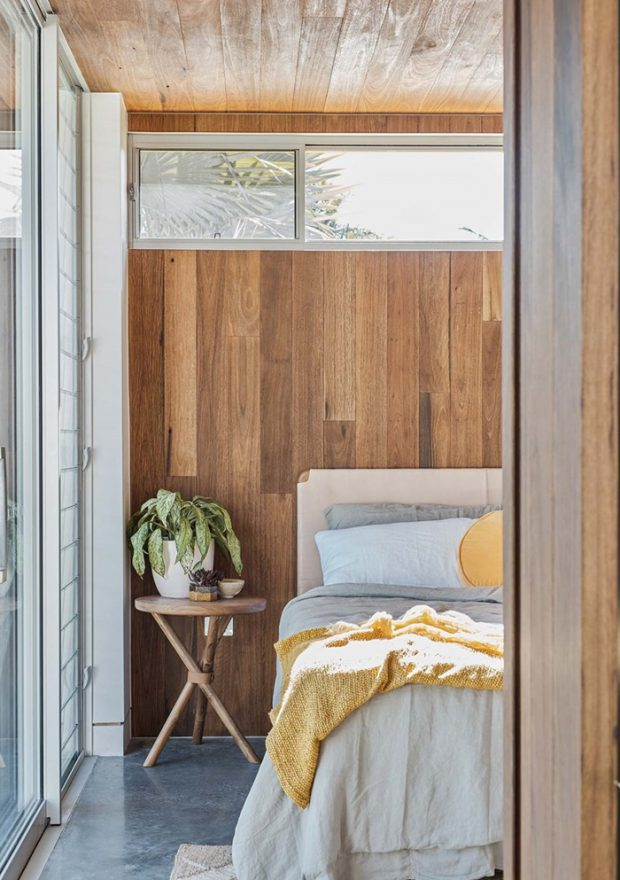 ตกแต่งห้องนอนด้วยไม้