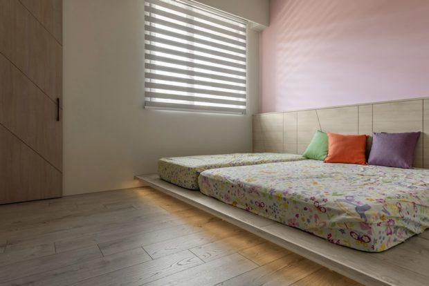 เตียงแบบ floor bed