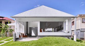ต่อเติมบ้านสีขาว