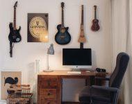 มุมทำงานดนตรีในบ้าน