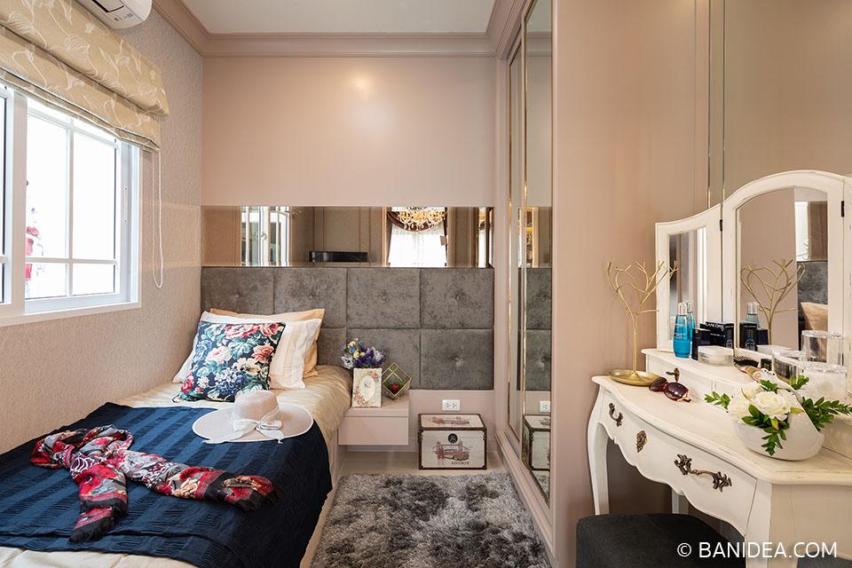 ห้องนอนชั้นล่าง ห้องผู้สูงอายุ