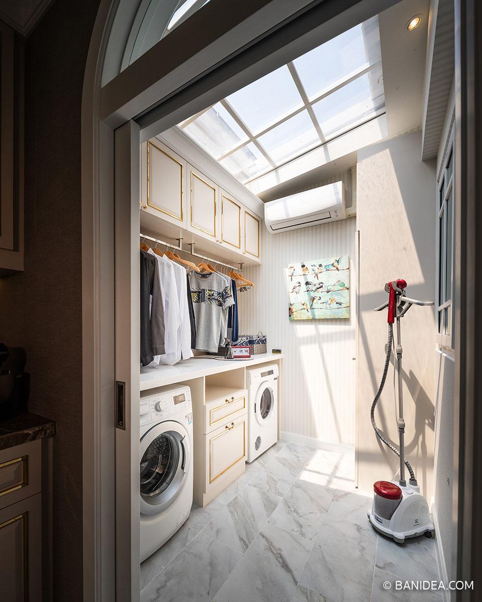 ห้องซักล้าง ซักรีดหลังบ้าน