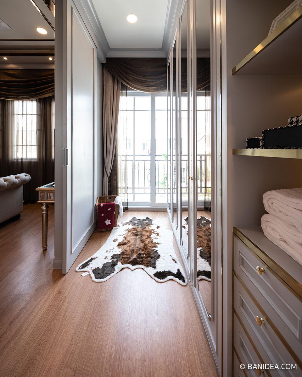 ห้องแต่งตัว ห้องนอนใหญ่