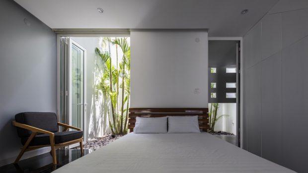 ห้องนอนเชื่อมต่อธรรมชาติ
