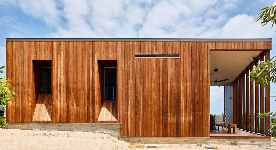 บ้านไม้ทรงกล่อง