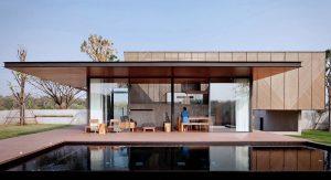 บ้านคอนกรีตทรงกล่อง