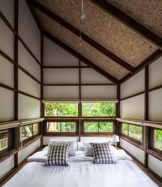 ห้องนอนล้อมธรรมชาติ