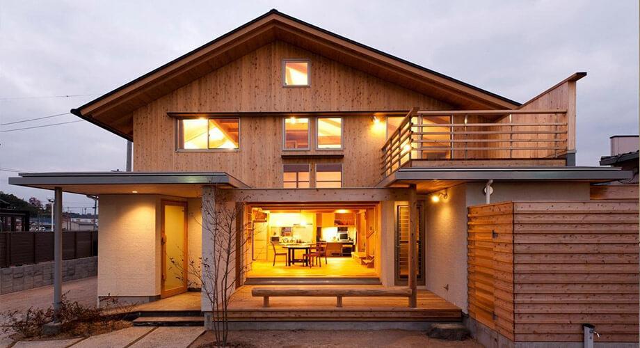บ้านไม้แบบญี่ปุ่น
