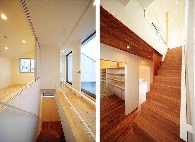 ออกแบบบ้านบันได
