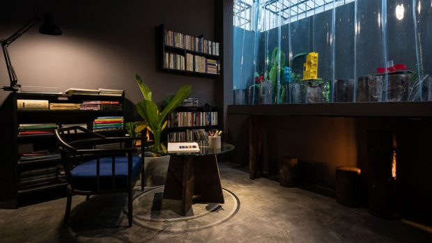 ห้องอ่านหนังสือ