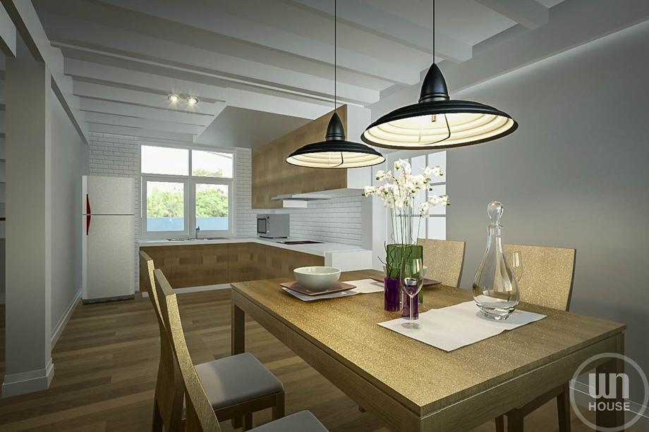 ห้องทานอาหาร 3D