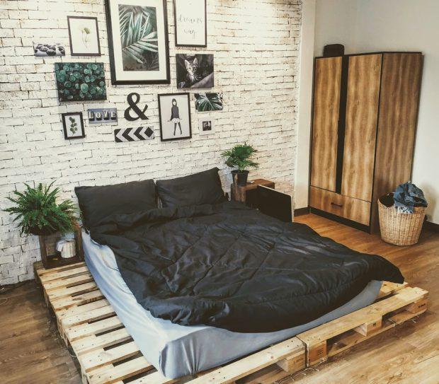 ห้องนอนหลังรีโนเวท