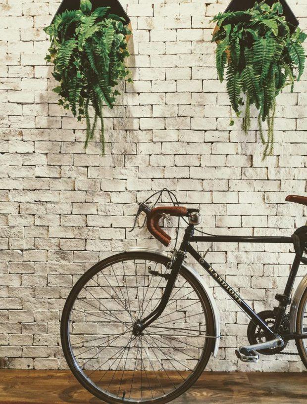 ที่จอดรถจักรยานในบ้าน
