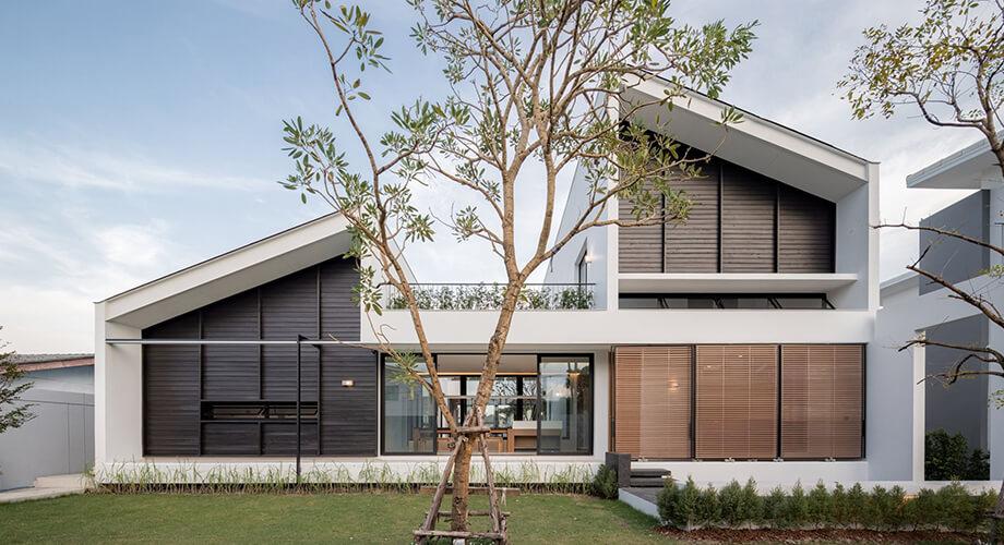 บ้านโมเดิร์นในไทย