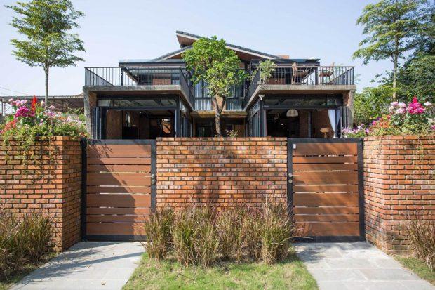 บ้านสองชั้นในเวียดนาม