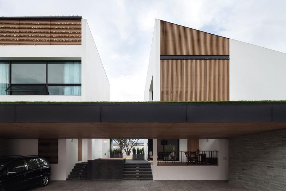 บ้านแฝด 2 อาคาร