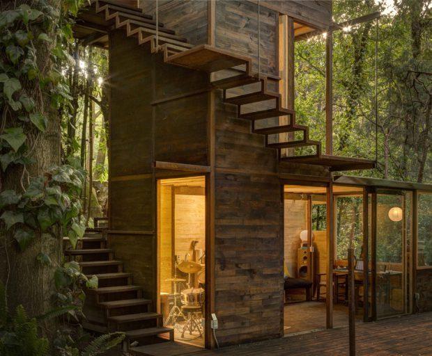 บ้านต้นไม้แนวคิดใหม่ ๆ