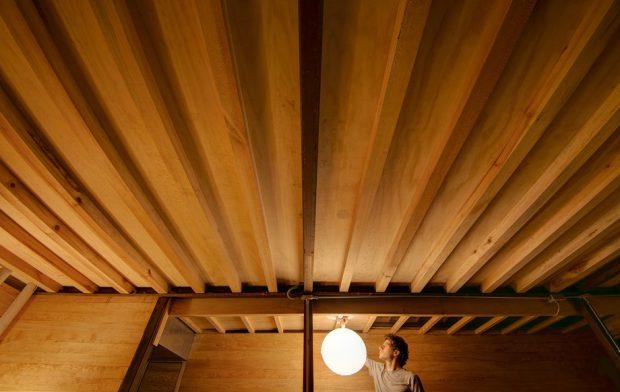 เพดานไม้