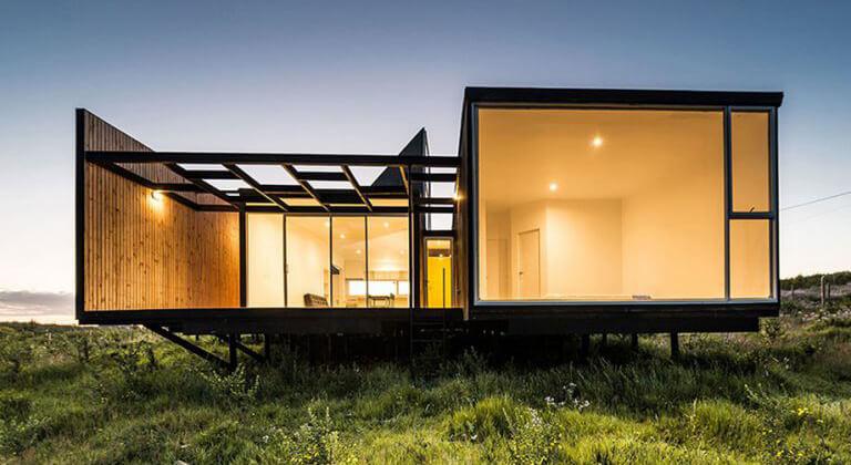 บ้านเดี่ยวโครงสร้างเหล็ก