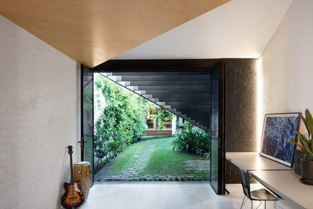 บ้านในสวนเขียว ๆ