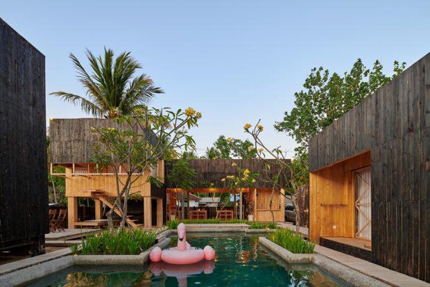 บ้านพักริมทะเลมีสระว่ายน้ำ