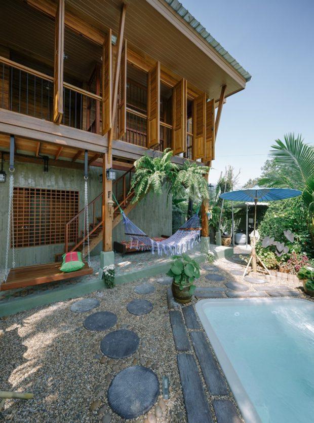 บ้าน Modern-Tropical ในกรุงเทพ