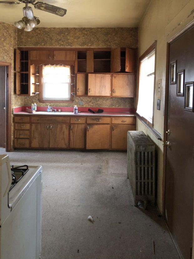 ห้องครัวก่อนปรับปรุง