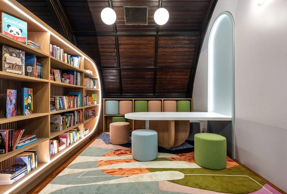 ห้องสมุดสำหรับเด็ก