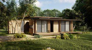 ตู้คอนเทนเนอร์สร้างบ้าน