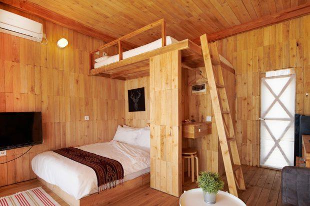 ห้องตกแต่งไม้