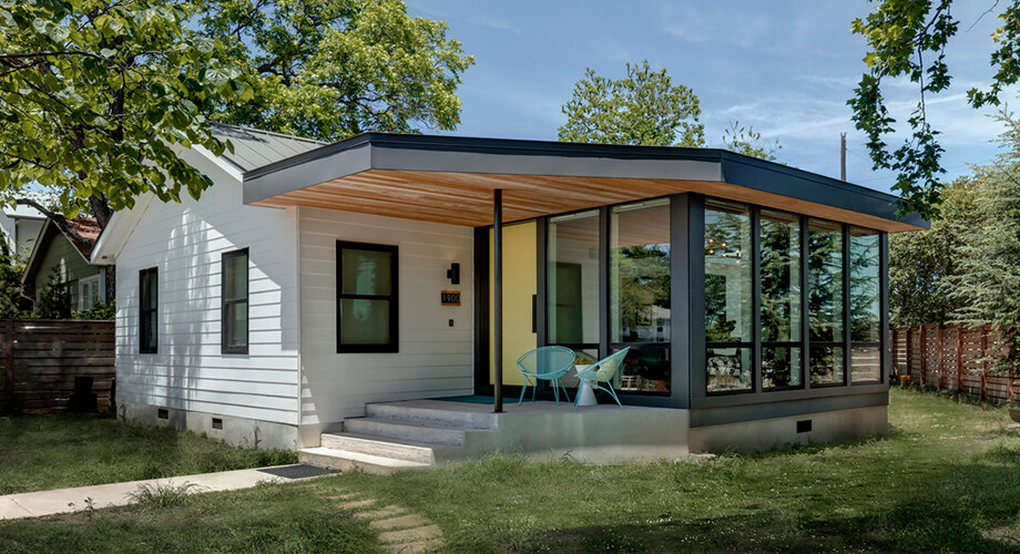 สร้างบ้านบนที่ดินสามเหลี่ยม