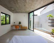 ห้องนอนเปิดโล่งเชื่อมต่อธรรมชาติ