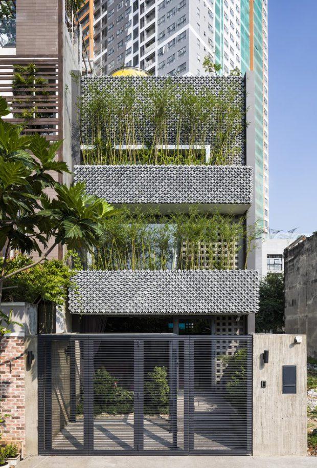 pattern-house บ้านฟาซาดอิฐ