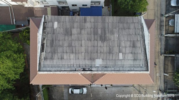 top up roof