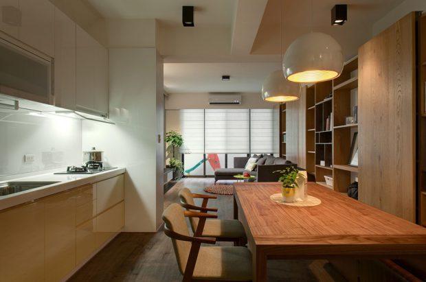 ครัวและห้องทานข้าว