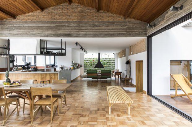 จัดบ้านโปร่ง ๆ แบบ open plan