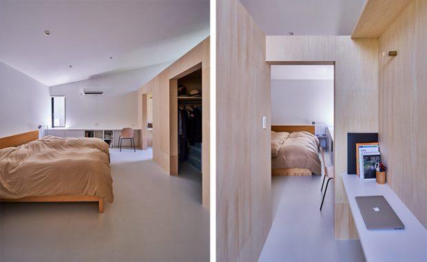 ห้องแต่งตัวในห้องนอน