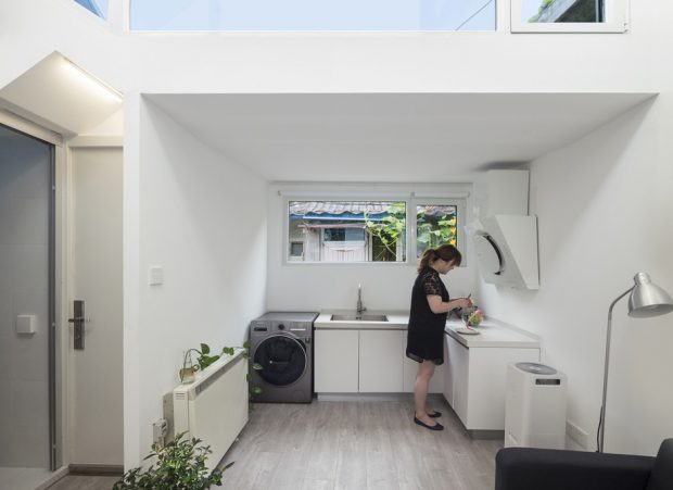 ครัวในบ้านเล็ก ๆ