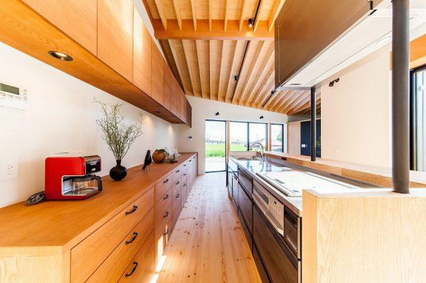 ออกแบบเคาน์เตอร์ครัวไม้
