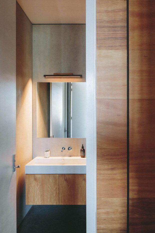 บิวท์อินตู้ในห้องน้ำ