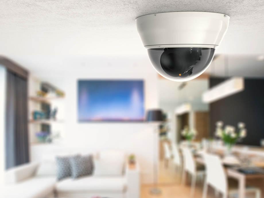 กล้องวงจรปิดในบ้าน