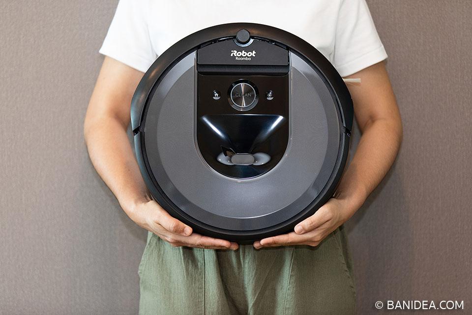 ด้านหน้า iRobot Roomba